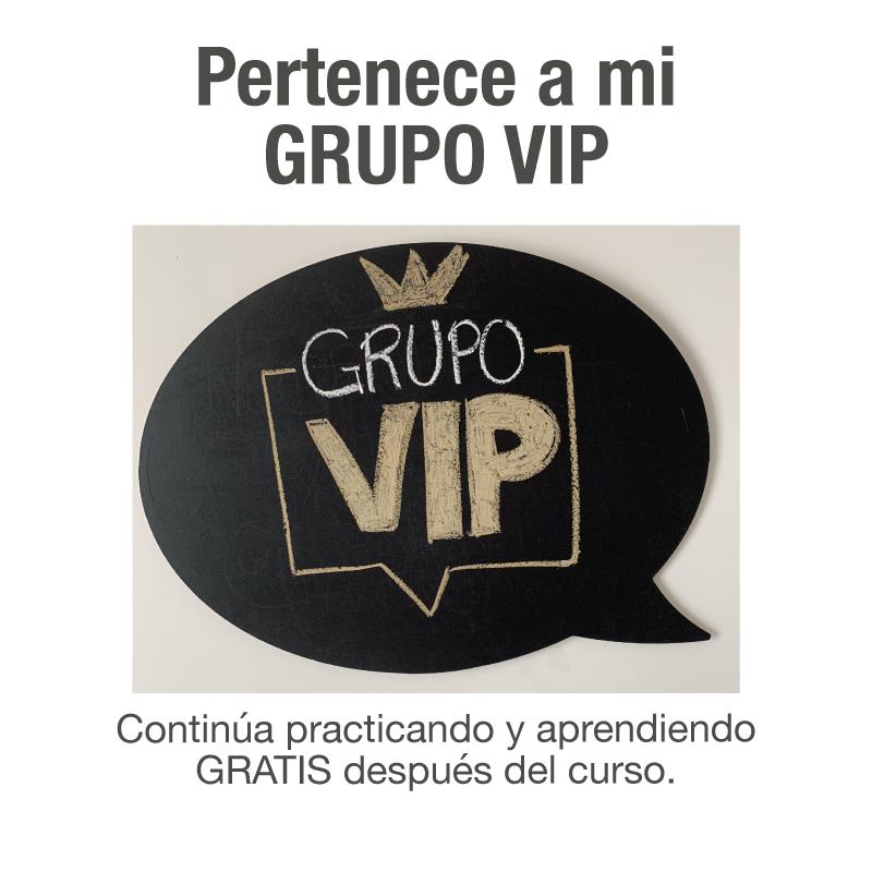 GRUPO VIP para Hablar en Público de David Navarro. Asesor de Imagen y Comunicación.